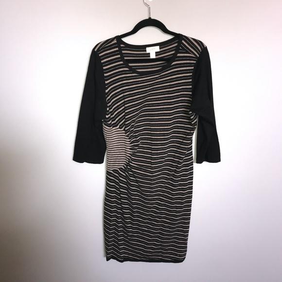 Ann Taylor Loft Dress w/Flattering Side Gather XL